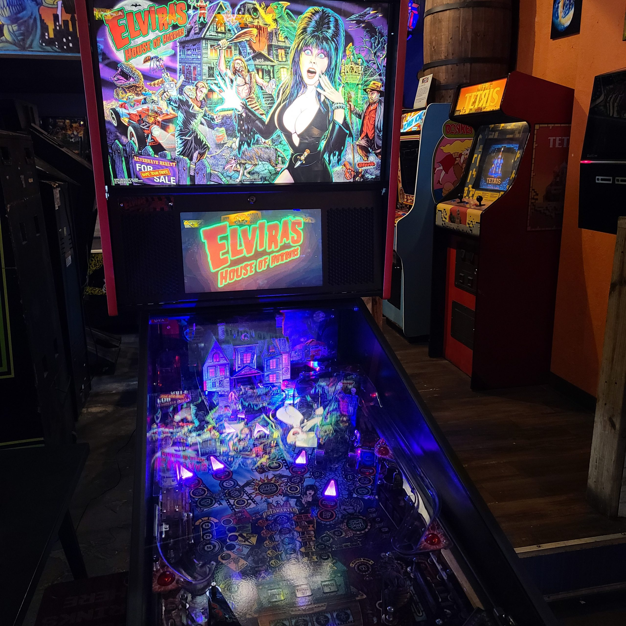 Elvira House Of Horrors Premium Pinball