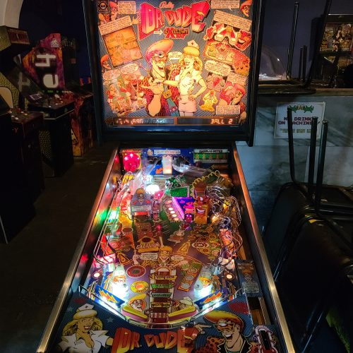Dr. Dude and His Xcellent X-Ray Pinball