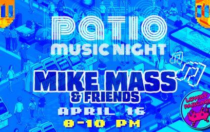 Patio Music – Mike Mass