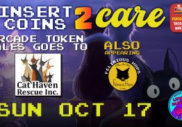 Insert Coins To Care – Cat Haven Rescue